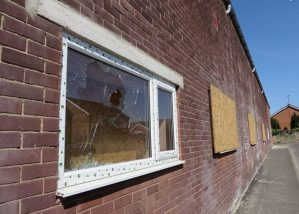 Mosque Targeted for Vandalism