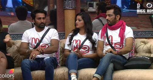 Manveer, Mona Lisa and Manu