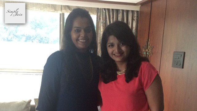 Khushali Shah and Fatema Mahabaleshwarwala at Khushali's house