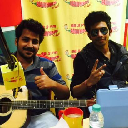 Music Sensation : Ashmik Patil with his friend Piyush Shankar