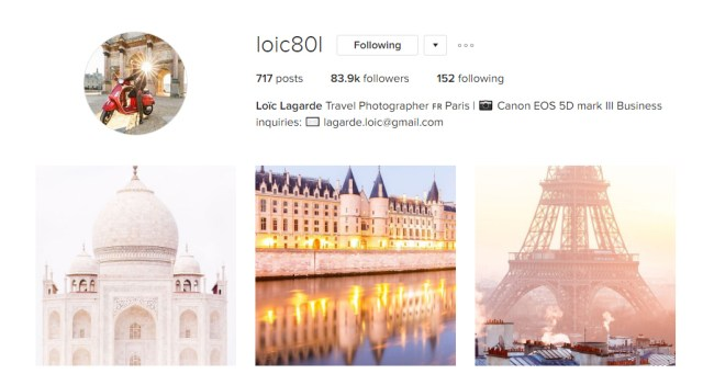 Loic Awesome Instagram Profiles
