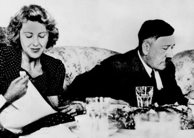 Image Courtesy : Prezi Adolf Hitler With His Wife Eva Braun