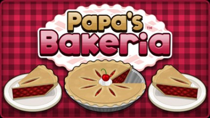 papa louie games , papa's bakeria , baking games