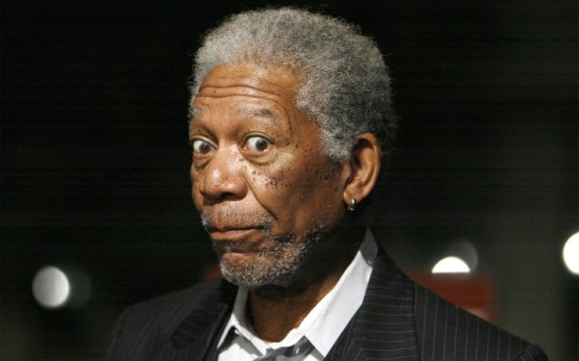 morgan freeman, famous left handed people