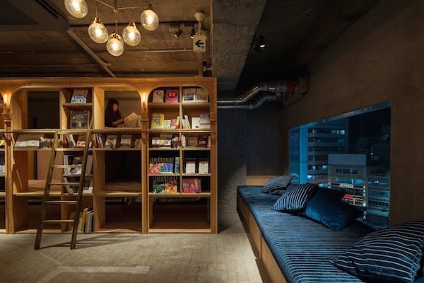 sleep, bookshelf, cozy, Japanese, 5000, books, hostel, book lovers, cubbies, favourite, asleep, heaven, bookworms, English, socka, nirvana, Japan, perfect, bedtime, read