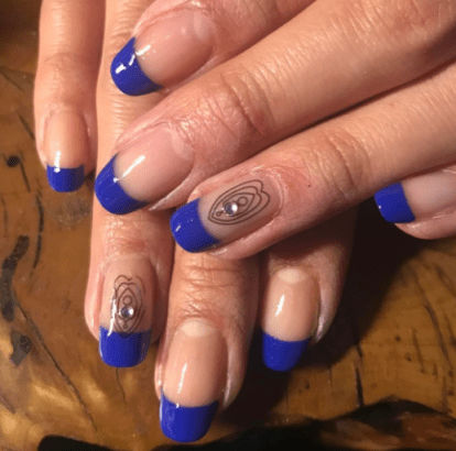 Vagina, nails, trend, femininity, women, nether, region, vulvas, nail nation, graphic, #vaginanails, creative, manicures, glitter, Asa Bree, shades, T Ngu, LGBTQ, design, Instagram, Portland, self-love, art, tampon nails