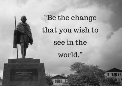 gandhi, peace, motivation, influence, inspiration