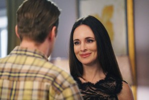 "REVENGE - ""Exposure"" - Emily faces a promising future as Amanda Clarke until Victoria uncovers devastating new secrets from her past, on ""Revenge,"" SUNDAY, APRIL 12 (10:01-11:00 p.m., ET), on the ABC Television Network. (ABC/Danny Feld)"
