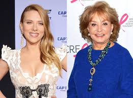 Johansson on Barbara Walters' most fascinating people list