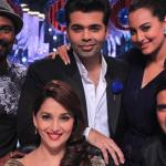 Holiday team with Jhalak's judges - Selfie