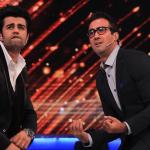 Manish and Ranvir grooving on a dance move
