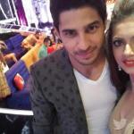 Drashti with Siddharth selfie , Sid will be seen tomorrow