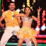 Sreesanth dances with his partner Sneha
