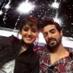 Shakti in an elegant selfie with Tushar