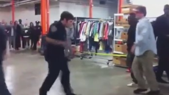 NYPD Cop accepts dance battle against street artist. Cop KILLS it    YouTube