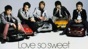 嵐のLove-so-sweetを流すとどんなシーンでも恋が始まりそうな予感が!