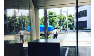 SHARP シャープ株式会社さんのツイート   けさから、創業者の銅像がいなくなった。 https   t.co XlfzXtE757