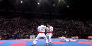-1 2  Karate Japan vs Italy. Final Male Team Kata. WKF World Karate Champions 2012. 空手日本   YouTube