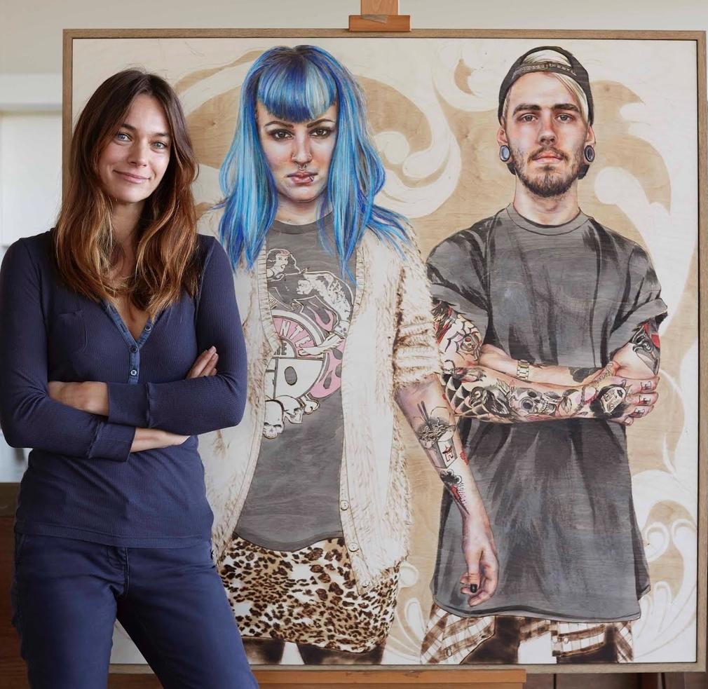 Meet Artist Rachel Perrin