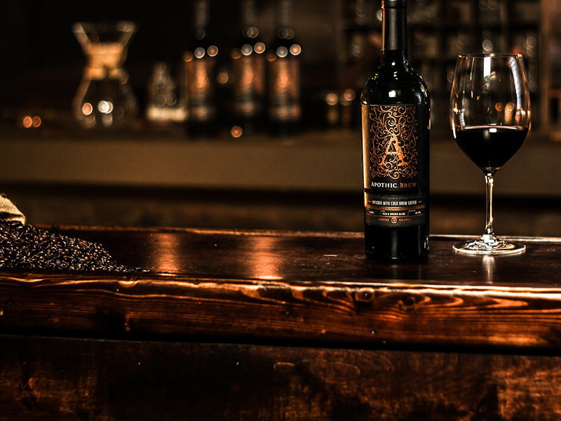 Apothic is Releasing a Cold-Brew-Infused Red Wine Blend