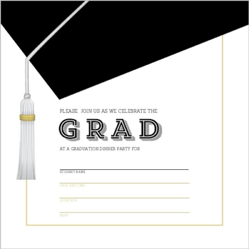 Large Of Graduation Invitation Templates