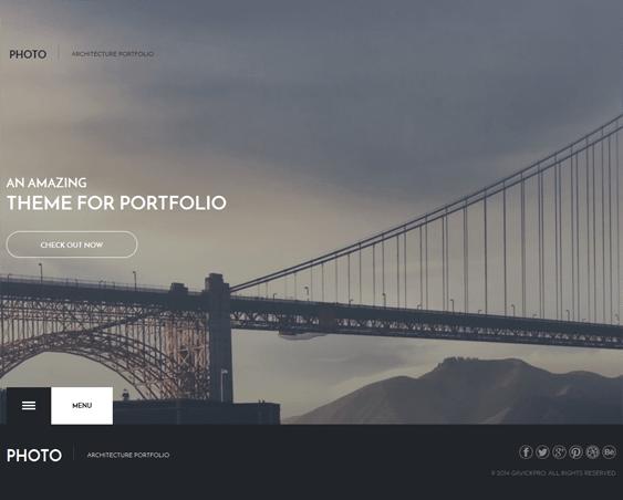photo architect wordpress theme