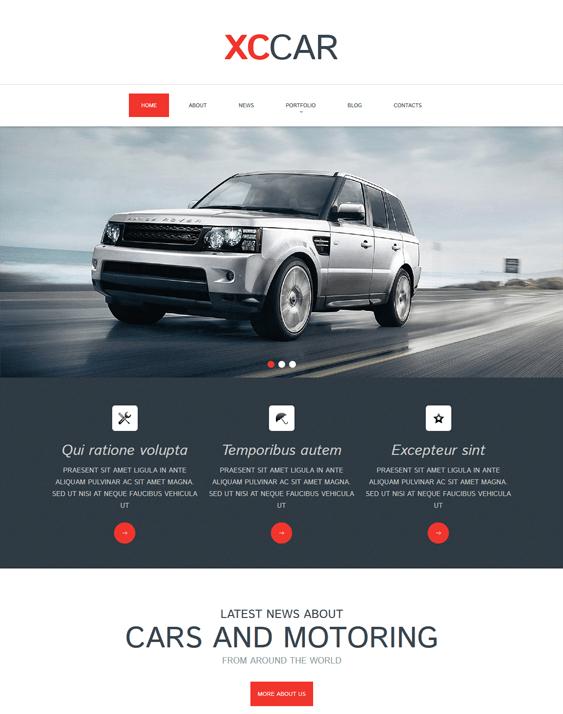 car club clean drupal themes