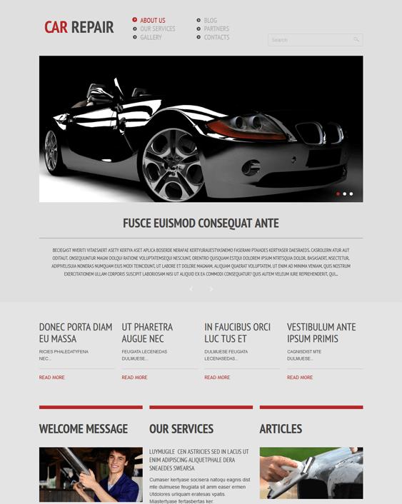car repair car mechanic repair shop wordpress themes