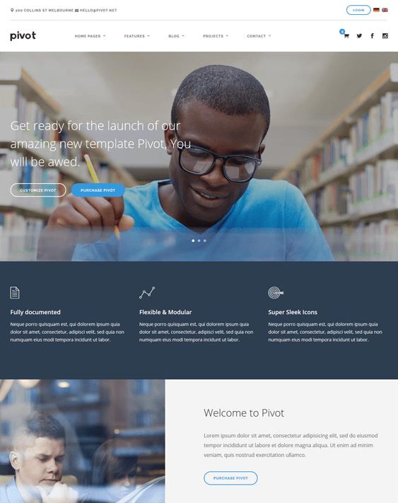 multipurpose education wordpress themes