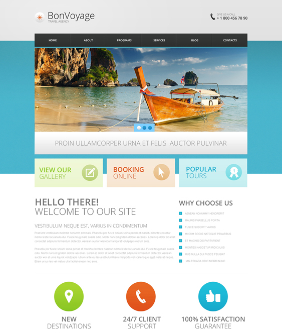 travel drupal themes