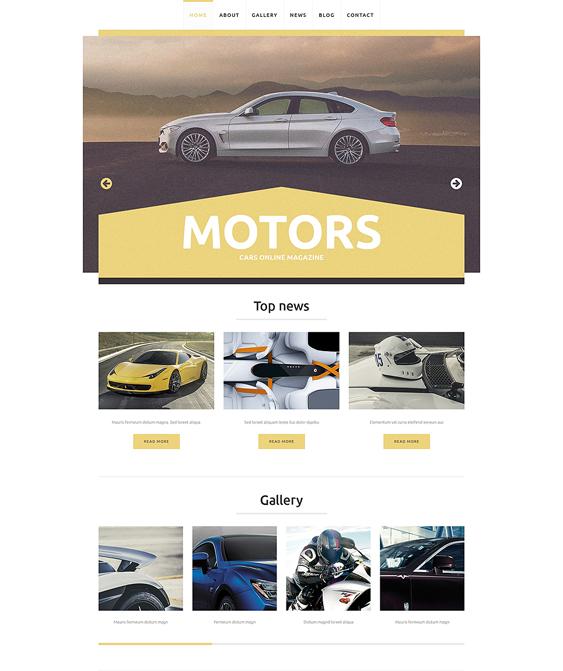 car vehicle automotive wordpress themes club