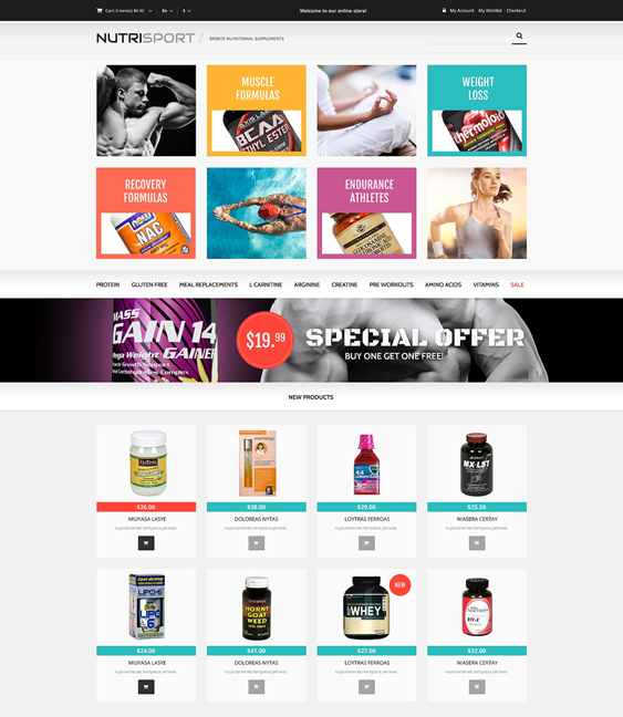 drug store3 medical magento themes