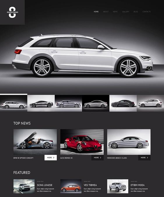 elegant car vehicle automotive wordpress themes