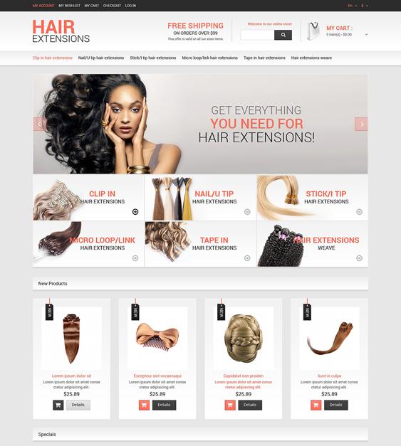 hair beauty magento themes salon