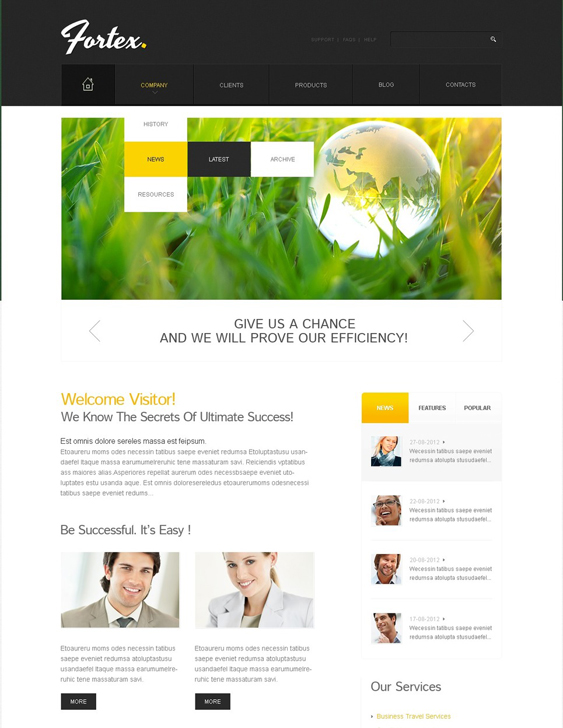 investment finance drupal themes