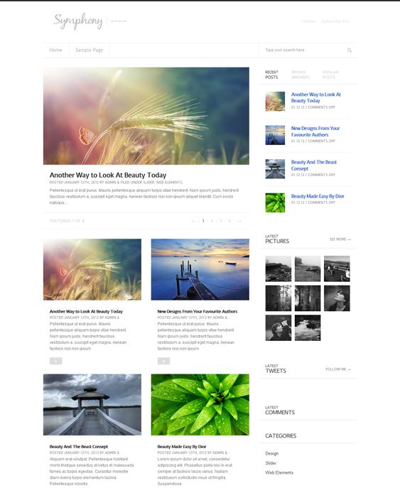 symphony news magazine wordpress themes