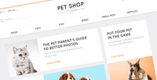 best opencart themes pets feature