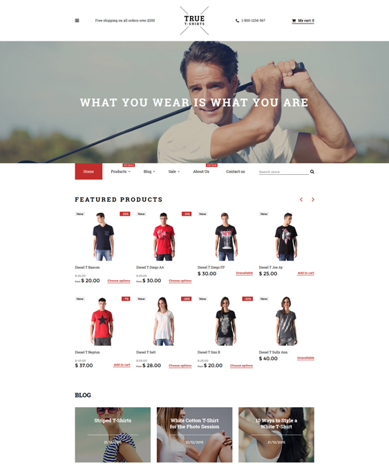 true responsive shopify themes