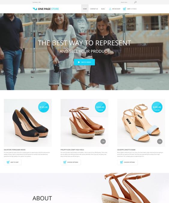 shoe store shopify themes