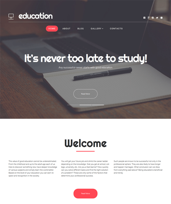 school education wordpress themes hub