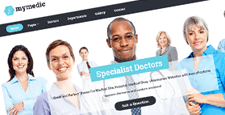 fantastic free premium medical wordpress themes feature