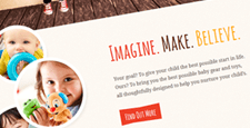playful wordpress themes kids babies feature
