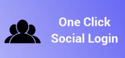 one click social media bigcommerce apps login