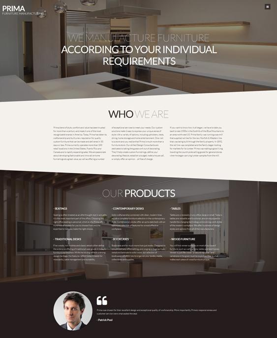 interior furniture joomla templates