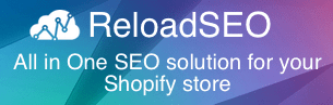 reload seo shopify apps plugin