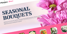 best joomla templates florists flower shops feature
