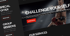 best sports joomla templates feature