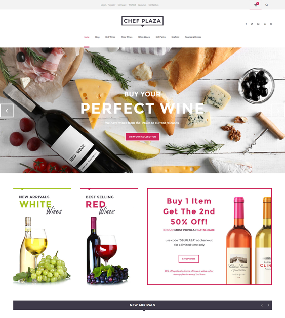 chef food drink wordpress themes