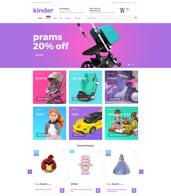 toy-store-responsive kids shopify theme