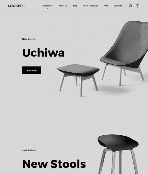 split shopify themes furniture homewares